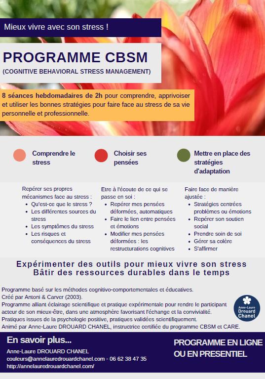 Programme CBSM